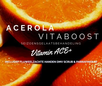 Seizoensbehandeling - Acerola Vitamineboost & fluweelzachte handen (75 min)